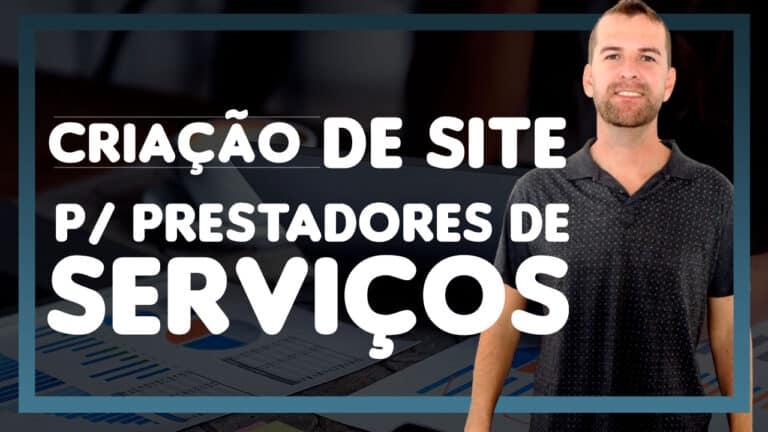 Read more about the article Criação de Site Para Prestadores de Serviços